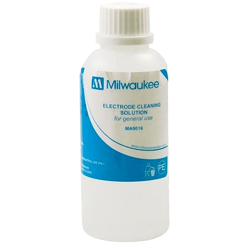 Milwaukee MA9016 Cleaning Solution for pH/ORP Electrodes, 230 mL