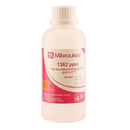 Milwaukee MA9062 1382 ppm TDS Calibration Solution - 230 mL