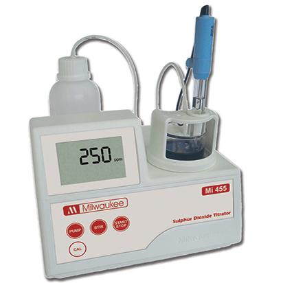 Milwaukee MI455 Free & Total Sulphur Dioxide MIni-Titrator