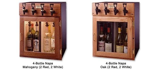 1 Photo of Monterey 6 Bottle Wine Dispenser Preservation Unit - Special Laminate