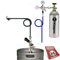 Standard Party Oktoberfest Beer Dispener Keg Tap Kit
