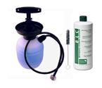 National Chemicals Deluxe Hand Pump Pressurized Keg Beer Kegerator Cleaning Kit w/ 32 oz. Cleaner