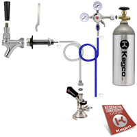 Standard Door Mount Oktoberfest Kegerator Conversion Kit