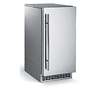 Scotsman SCN60PA-1SU Nugget Ice Maker 80 lbs. Drain Pump - Stainless Steel Cabinet and Unfinished Door
