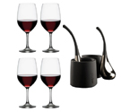 Spiegelau Vino Grande Bordeaux Wine Glass Skybar Wine Chill Drops Set