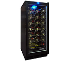 Vinotemp VT-TC32 Black 32-Bottle Built-in Wine Cooler