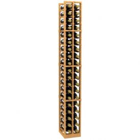 Enlarge 2 Column Wood Wine Rack