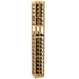 Enlarge 2 Column Display Wood Wine Rack