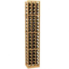 Enlarge Allavino 3 Column 57 Individual Bottle Wood Wine Rack