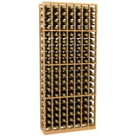 Enlarge Allavino 7 Column 133 Individual Bottle Wood Wine Rack