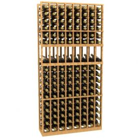 Enlarge 8 Column Display Wood Wine Rack