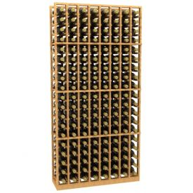Enlarge Allavino 8 Column 152 Individual Bottle Wood Wine Rack
