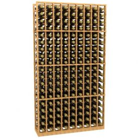 Enlarge Allavino 9 Column 171 Individual Bottle Wood Wine Rack
