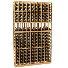 Enlarge 10 Column Display Wood Wine Rack