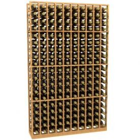 Enlarge Allavino 10 Column 190 Individual Bottle Wood Wine Rack