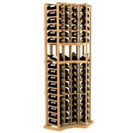 Enlarge Allavino Curved Corner Display Wood Wine Rack