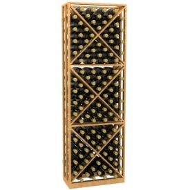 Enlarge Allavino Lattice X-Cube Storage Wood Wine Rack