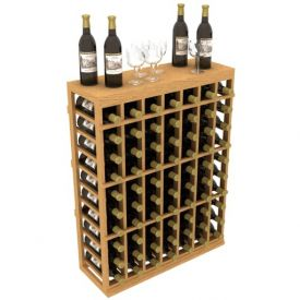 Enlarge Individual Half Wine Rack with Table Top