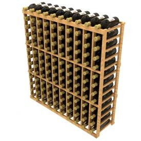 Enlarge Allavino Stackable Ten Column 120 Bottle Wood Wine Rack