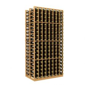 Enlarge Allavino Double Deep 8 Column 304 Bottle Wood Wine Rack