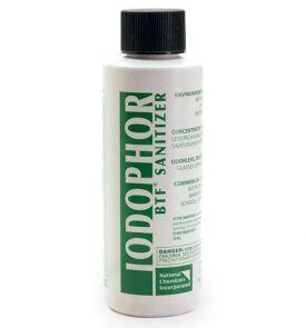 Enlarge BTF Iodophor Sanitizer - 4 oz Bottle