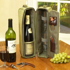 Enlarge Picnic at Ascot Hampton Sunset Wine Carrier