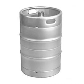 Enlarge Kegco Brand new 15.5 Gallon (1/2 Barrel) D System Keg - Threaded D System Valve