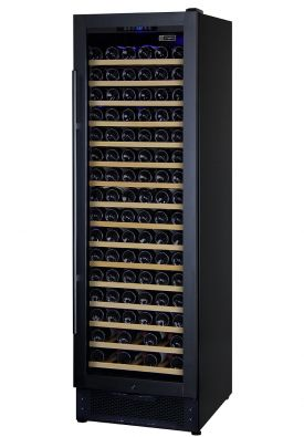 Enlarge Allavino AWR168-1BR - 168 Bottle Wine Refrigerator - Black Cabinet and Door Frame