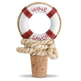 Enlarge Nautical Wine Savor Bottle Stopper
