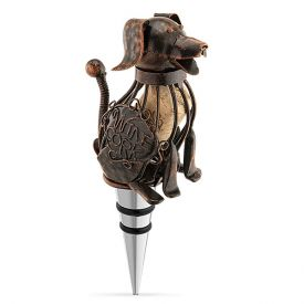 Enlarge Corky the Dog Bottle Stopper