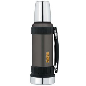 Enlarge Thermos 2520GMTRI2 1.2-L Work Series Vacuum Insulated Beverage Bottle - Gun Metal