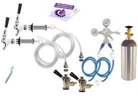 Enlarge Kegco Standard Two Keg Door Mount Kegerator Beer Tap Conversion Kit