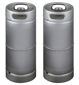 Enlarge Two Kegco brand new 5 Gallon Commercial Kegs - Drop-In D System Valve
