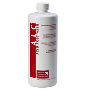 Enlarge ALC Acid Post Wash Beer Line Cleaner - 32 oz. Bottle