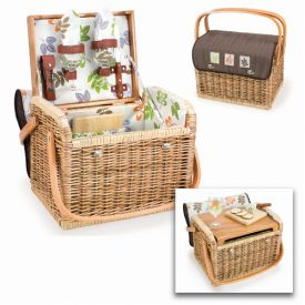 Enlarge Kabrio Botanica Willow Picnic Basket for 2