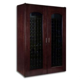 Enlarge Le Cache 3800 Series 458 Bottle Wine Cellar - Chocolate Cherry Finish