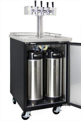 Kegco Commercial Grade Homebrew Kegerator Four Tap Keg