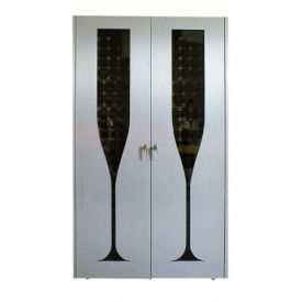 Enlarge Vinotemp Champagne 440 Wine Cellar - Two Glass Doors - 280 Bottle Count