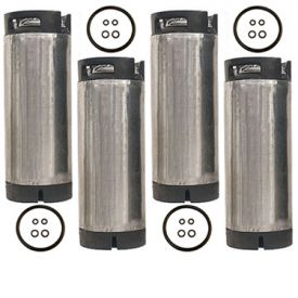 Enlarge Set of 4 - Reconditioned  5 Gallon Pin Lock Kegs