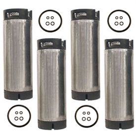 Enlarge Set of 4 - Reconditioned  5 Gallon Ball Lock Keg