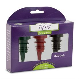 Enlarge Tiptop® Reusable Wine Cork 3-Pack