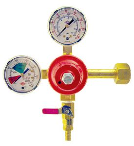 Enlarge 5741PMHPT - Primary High Pressure Double Gauge Mixed Gas Regulator