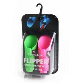 Enlarge Metrokane 6121 Rabbit Flipper Pourer/Stoppers