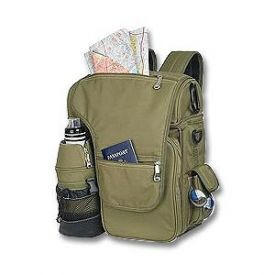 Enlarge Picnic Time Turismo Insulated Cooler Tote/Backpack - Olive