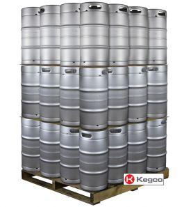 Enlarge Pallet of 48 Kegco HS-K7.75G-DDI Kegs -  7.75 Gallon Commercial Keg with Drop-In D System Sankey Valve