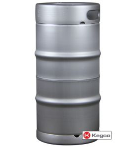 Enlarge Kegco HS-K7.75G-DDI Keg - Brand New Slim 7.75 Gallon Commercial Kegs - Drop-In D System Sankey Valve