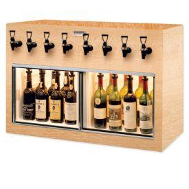 Enlarge WineKeeper Monterey 8 Bottle Wine Dispenser Preservation Unit - Oak - 7774