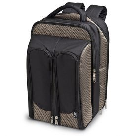 Enlarge Wine Picnic Backpack for Two - Tweed