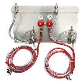 Enlarge 83215-PM1 - 2 Product Secondary Co2 Regulator Panel Kit w/Pro-Max