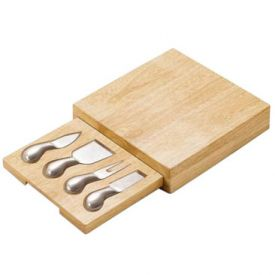 Enlarge Picnic Time Festiva Cheese Cutting Board Set